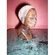 Escultura Busto Mulata Piedra