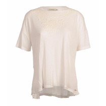 Remera Mujer Brooksfield Moda Viscosa Guipur