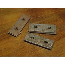 Siam 48 Siambretta Chapa Refuerzo Porta Patente Original