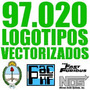 97.020 Logotipos Vectorizados Logos Vectoriales Ploter
