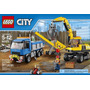 Lego City Demolition Excavator And Truck 60075
