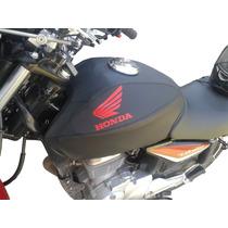 Funda De Tanque Honda Cg 150 Titan Ala Roja