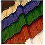 Chapa Cinc Color Unicam 1,1x1,1m Calibre 25