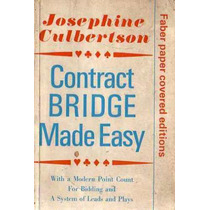Contract Bridge Made Easy - Josephine Culbertson - En Ingles