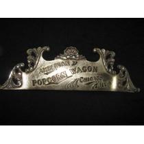 Cartel De Popcorn Wagon-reliquia De 1905-imperdible