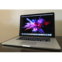 Macbook Pro 15' 2015 I7 16gb 256ssd Impecable Oferta