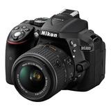 Nikon D5300 18-55mm Vr Ii Kit Dslr Color Negro