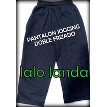Pantalón Jogging Colegial 4 A 16 Doble Friza Escolar Colores