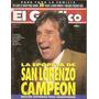 El Gráfico 3951 D- San Lorenzo Campeon/ Zurdo Lopez-dt Indep