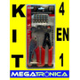 Kit Instalacion Cable Pinza -alicate-pela Cable- Fichas 4en1