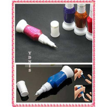 Kit 3 Esmalte Deco Uñas C/ Pincel + Lainer Stamping Maquilla
