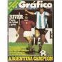 El Gráfico 2903 B-selección Argentina Campeon Tolon/ Lauda