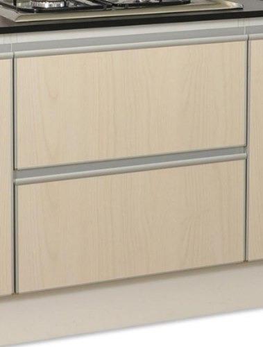 Cajonera de 2 cajones perfil j y aluminio amoblamientosfl for Perfiles aluminio para muebles