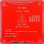 Mesa Cama Caliente Mk2b 12v/24v Impresora 3d Prusa Reprapmes