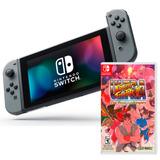 Nintendo Switch Consola Nueva + Street Fighter 2 Alclick