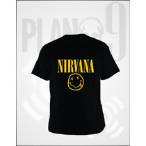 Remeras Estampadas Nirvana