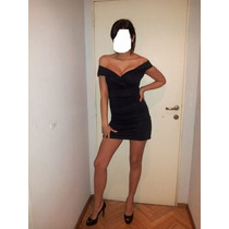 Vestido Elegante Y Sexy De Noche Corte Bote