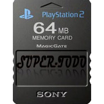 Memory Card 64 Mb Playstation 2 Sony Ps2 Gtía Xescrito Envío