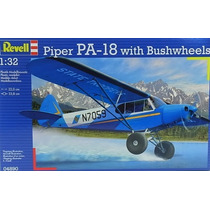 Revell 04890 Piper Pa-18 With Bushwheels 1:32 Milouhobbies