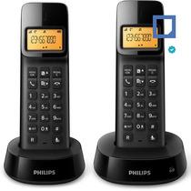 Telefonos Inalambricos Philips D1402 Duo Id Carga Micro-usb