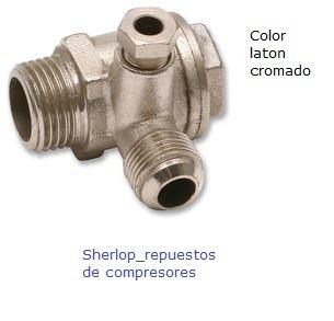 Valvula de retencion no retorno para compresores de aire - Accesorios para compresores de aire ...