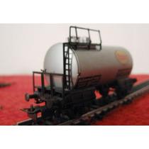 Vagon Tanque De Combustible Esso Tren De Carga Marca Liliput