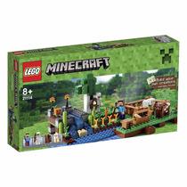 Educando Lego Construcción Minecraft Granja The Farm 21114