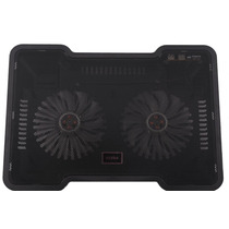 Cooler Pad Notebook Dn-b168 15 A 17 Pulgadas Doble Fan,usb
