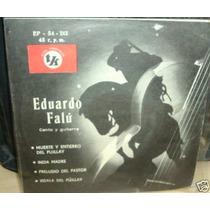 Eduardo Falu India Madre Vinilo Ep C/ Tapa Argentino