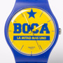 Reloj Swatch Boca Juniors Suoz 177 178 Local Barrio Belgrano