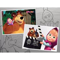 Rompecabezas Imantados. Masha Y El Oso! Masha And The Bear!