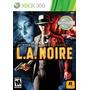 L.a. Noire Xbox 360 Formato Físico Nuevo Sellado La Noire