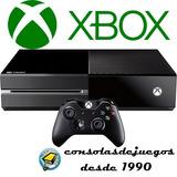 Xbox One Reacondicionadas Orig 1 Año De Gtia !!