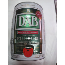 Barril De Cerveza Rubia Dab 5 Litros Importada