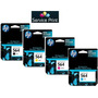 Promo Hp 564 Negro + 3 Colores 4cart Jgo Comp Originales