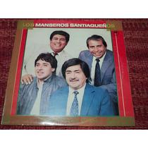 Disco Vinilo Los Manseros Santiagueños Sembradoresde Coplas