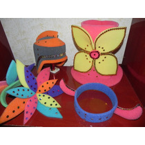 Sombreros Y Vinchas De Goma Espuma Arma Tu Pack