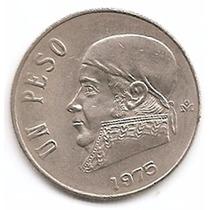 México Moneda De 50 Centavos Año1975 Km 460 Cupro Niquel
