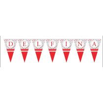 Banderín Personalizado / Papel Ilustraciónilustracion 300 G