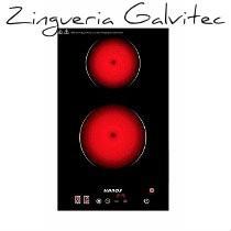 Anafe Eléctrico Vitrocerámico - Tst Vitro 2 - Galvitec