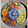 Bacha Artesanal Ceramica, Pintada A Mano, Hermosa!!