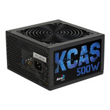 Fuente Pc Atx Aerocool Kcas-plus-500w Kcas Plus Series 220v Negra