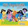 Kit Imprimible Los Backyardigans + Candy Bar Invitaciones