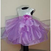 Vestido Importado Nena Bautismo Fiesta Boda T2 Usa