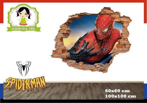 Vinilo Decorativo Spiderman Hombre Araña Varones En Venta En