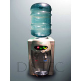 Dispenser Agua Frío Calor Digital De Mesada Para Bidones