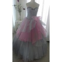 Vestido D Quince/novia/madrinas/cortejo/fiestas/alta Costura