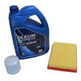 Cambio Aceite 10w40 Con Filtros Aire Aceite Volkswagen Gol