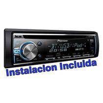 Stereo Pioneer Deh 6800bt Instalado Usb Cd Bluetooth Mixtrax