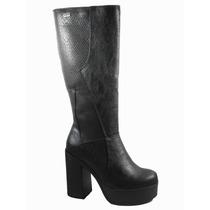 Botas Mujer Invierno Plataforma Zapatos Anca Y Co 6000